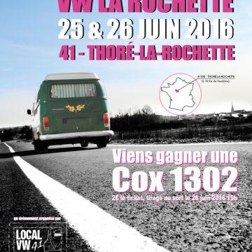 Rassemblement VW à Thoré-La-Rochette  les 25-26 juin 2016