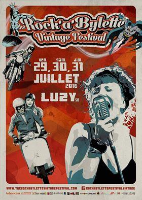 Festival Rockabylette 2016 – 29-30-31 juillet à LUZY (58 – Nièvre)