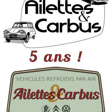 Portes ouvertes pour les 5 ans d'Ailettes & Carbus !
