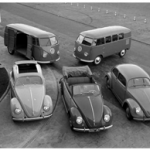 vw production 1950 ailettes-et-carbus