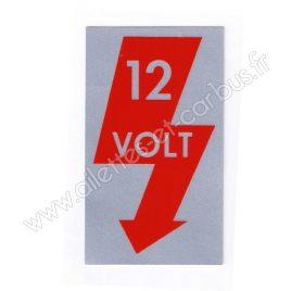 AUTOCOLLANT 12V