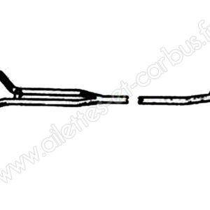TUBE SOUS CAISSE 80mm L4 TIGRE