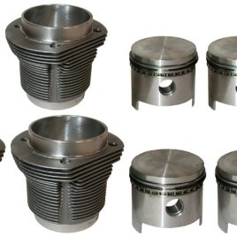KIT CHEMISES / PISTONS PLATS  2L TYPE 4  AA PRODUCT