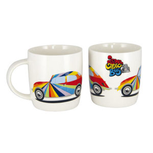 MUG VW COX LOVE  BLANC VINTAGE