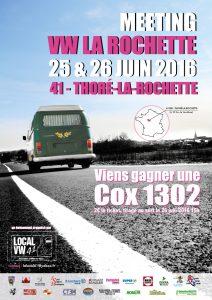 rassemblement VW à Thoré-La-Rochette
