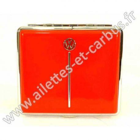 Étui cigarettes VW Coccinelle rouge