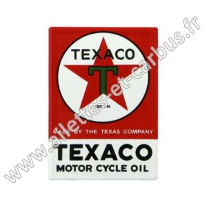 Magnet Emaillé TEXACO MOTOR CYCLE OIL