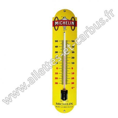thermometre michelin émaillé