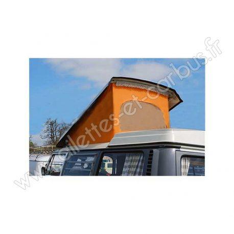 Toile toit Westfalia combi bay window T2a orange