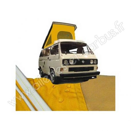 Toile toit Westfalia VW T3 jaune