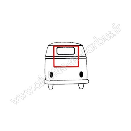 Joint hayon VW Combi 63-71