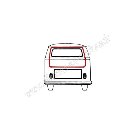 Joint hayon VW Combi T2B