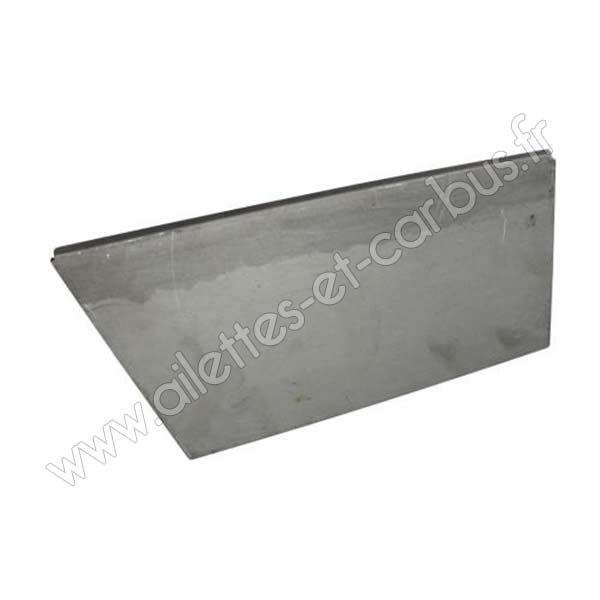 Bas De Porte Exterieur  Plinthe Anti Vent Aluminium Port O Mat