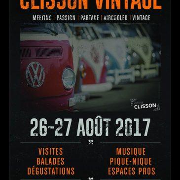 CLISSON VINTAGE 2017 – 26 & 27 août 2017