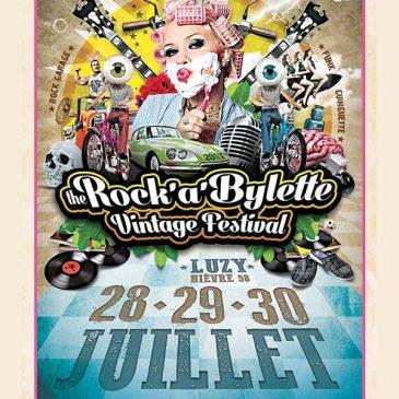 The Rock'a'bylette Vintage Festival 2017 – Luzy (58) : 28-29-30 Juillet