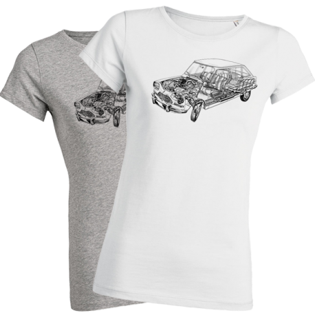 T-shirt femme - AMI éclaté