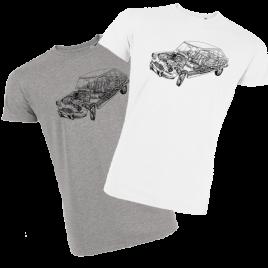 T-shirt homme - AMI éclaté