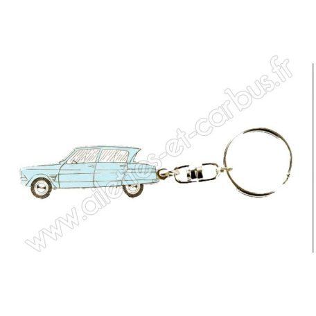 Porte clés Citroën Ami6 bleue