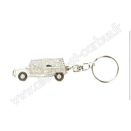 Porte clés Citroën Méhari Blanche