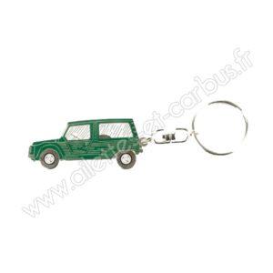 Porte clés Citroën Méhari verte