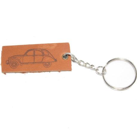 Porte clés 2cv profil