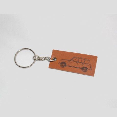 Porte clés Renault 4L