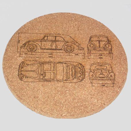 Dessous de plat VW Coccinelle Cab
