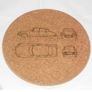Dessous de plat Citroën DS