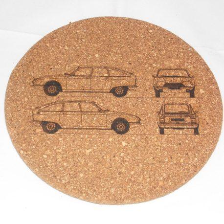 Dessous de plat Citroën GS