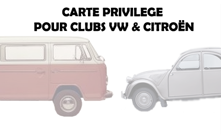 Clubs Citroën et VW : des comptes privilèges !