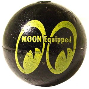 BOULE ANTENNE MOON BLACK VINTAGE